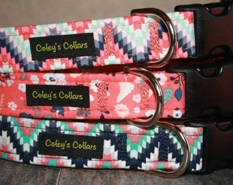 "Aztec Dog Collars ""The Aztec Collection"" Custom Dog Collars"