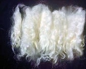 Wool locks, Blythe reroot,Santa beards, Cotswold wool ,Lock  spinning, curls. averages 6-7 inches from Jackie, 2  0z