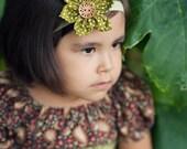 Lovely Girly Headband with Dots
