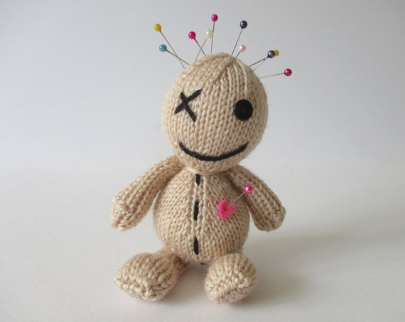 Knitting Pattern Voodoo Doll : Voodoo Doll toy knitting pattern