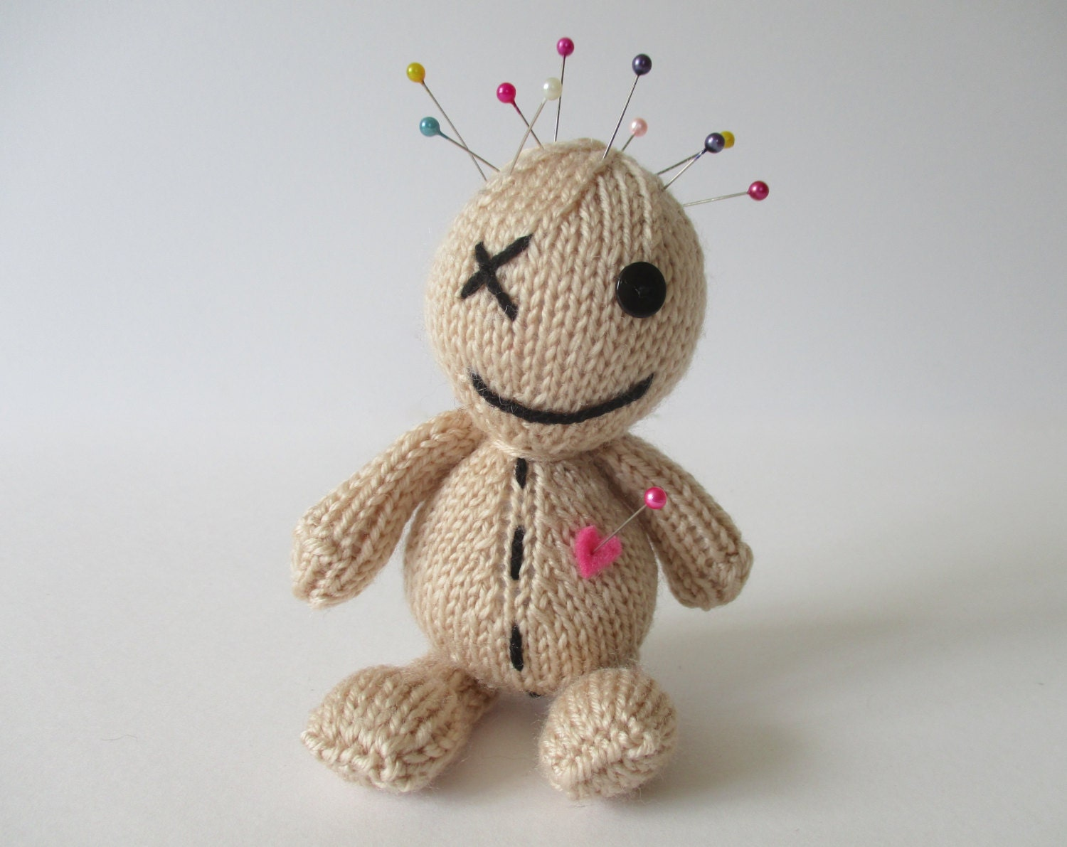 Voodoo Doll Toy Knitting Pattern