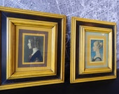 Print pictures art sketch painting Victorian lady ladies antique yet modern era period pieces