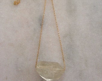 Rumi Lemon Quartz Necklace