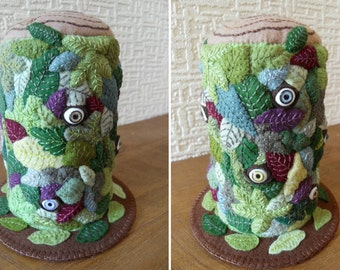 Eye-spy!  Large Felt Pincushion