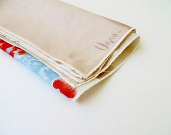 Vintage Scarf / Vera Scarf / 1960s VERA Scarf / MOD Scarf Designer Scarf / 60s Scarf / Floral scarf / Square Scarf / Hair Wrap Scarf