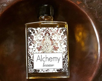 ALCHEMY HOMME // Essential Oil Cologne for Men // Fig Cardamom Vetiver Tobacco