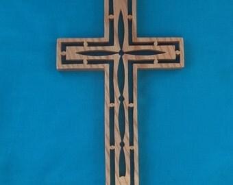 Wooden Wall Cross C23