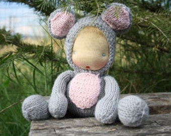 Waldorf doll Mouse 8""