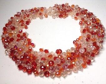 Sparkling Crystal Beads Collar