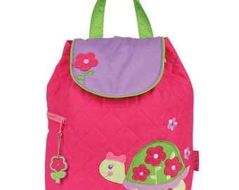 New Turtle Backpack Personalized Stephen Joseph