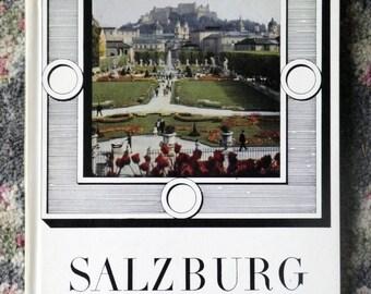 3-X REDUCED, VINTAGE BOOK, Salzburg, The Town, Rudolph Bayr author, Josef Dapra photography