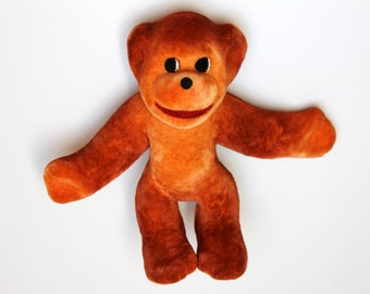 Vintage toy monkey from USSR, 70s