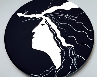Muse Charger Coaster - CONTEMPORARY ERATO