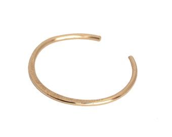 Violet, 14kt Gold Filled or Sterling Silver Cuff Bracelet