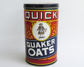 Quaker Oats Decorative Tin - Limited Edition Reproduction