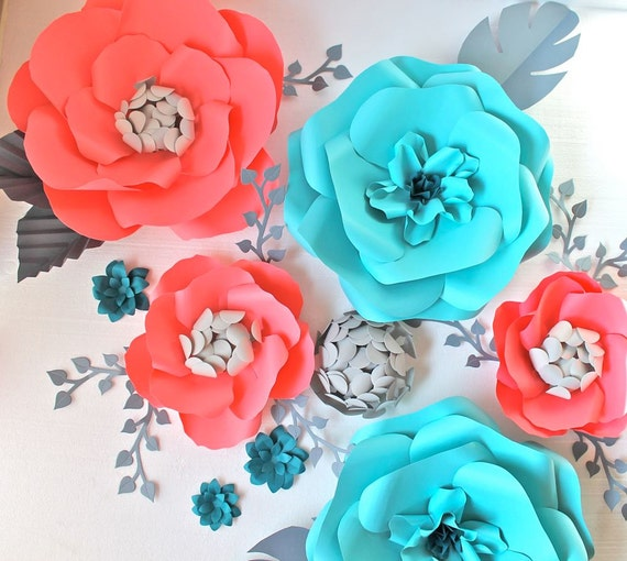 Coral paper flowers gallery flower decoration ideas perfect coral paper flowers ensign wedding dresses from the bridal awesome coral paper flowers inspiration wedding mightylinksfo