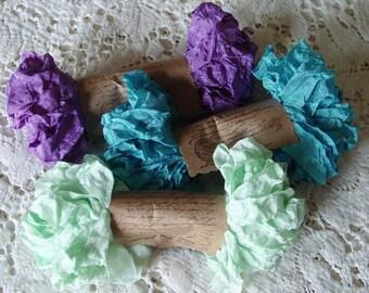 Shabby Wrinkled FAIRY DANCE ribbon bundle, 15 yards