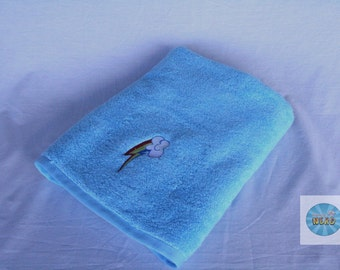 My Little Pony Inspired Bath/Beach Towel - Rainbow Dash Cutie Mark