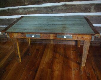 Rustic Barn door table