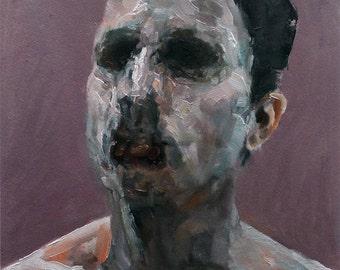 Mountbatten, Original Oil Painting