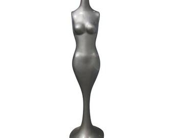 MANNEQUIN Tulip Form Torso Mermaid  Sculpture Figurine  Table vintage mid century modern Art  Deco Modernist Sculpture Statue