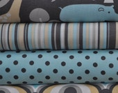 Baby Zoology for Michael Miller, 4 Fat Quarters Bundle