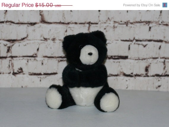 Kawaii panda bear 90s teddy gift nursey home decor by for Panda bear decor