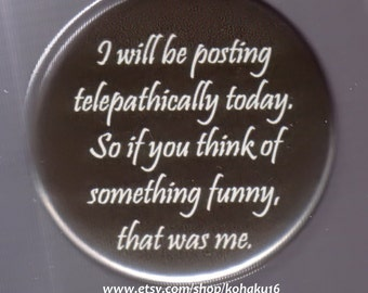 Hilarious Telepathy Button