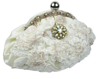 Bridal Clutch, Wedding Purse, Wedding Clutch, Bridesmaid Clutch, Bridal Purse, Bridal Acessories
