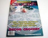 Vintage DECORATIVE CROCHET Pattern Booklet - September 1994 # 41 - Decor crochet - Filet crochet - Child room patterns - Doily - Tabletop