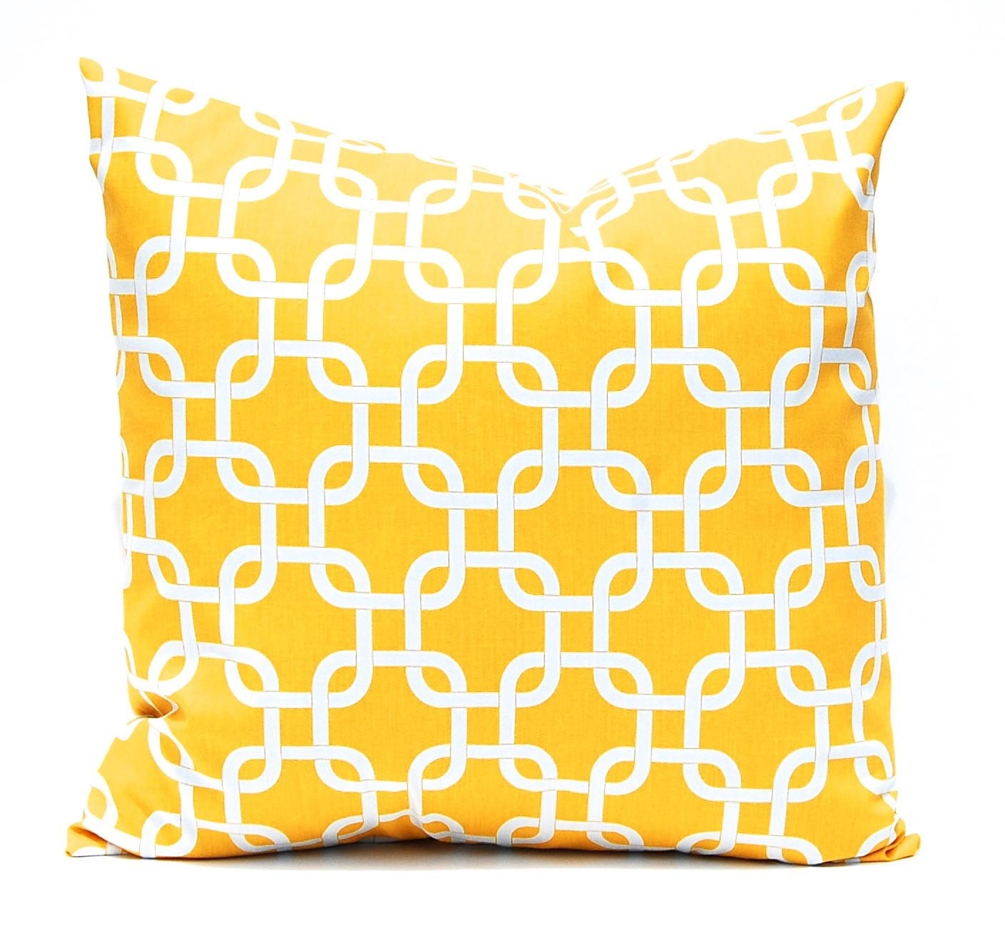 Decorative Pillow Yellow : Yellow Pillows Yellow Throw Pillow Covers by CompanyTwentySix
