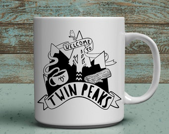 welcome to twin peaks 11oz coffee mug