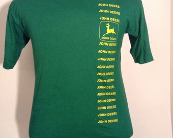 SALE Vintage John Deere Tshirt Medium