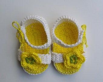Girl shoes girl sandals handmade kids shoes for newborn crochet sandals