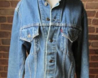 Levi Strauss & Company Denim Trucker's Jacket, 1980s