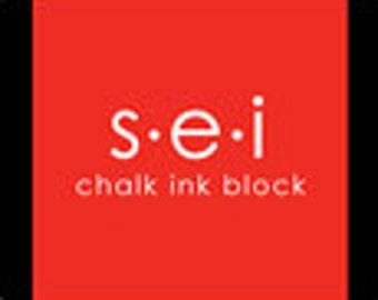 """Tomato ink block 1"""" 7-1852 by SEI"""