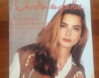 Christian de Falbe No. 10 Designer Handknitting Collection knitting patterns and projects