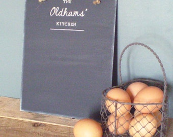Family Kitchen Chalkboard