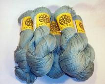 Classic Elite Provence Sea Green Mercerized Cotton Yarn 5 Skeins 125 Grams 256 Yards