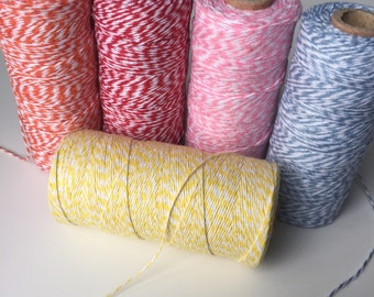 Bakers Twine assorted colors