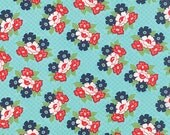 One Yard - Daysail by Bonnie and Camille for Moda - Blooms in Aqua