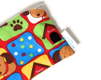 EcoFriendly Zippered Reusable Snack Bag - WAS 10.00 NOW 5.00