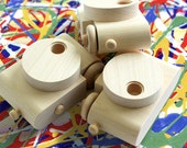 Paint Your Own Pixie Set - Wooden Toy Camera