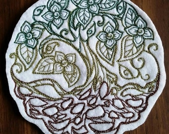 Twisted Tree Patch,Tree of Life