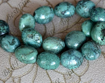 15inch 23x24mm Natural old Turquoise nugget loose beads,turquoise nugget gemstone beads,turquoise nugget beads