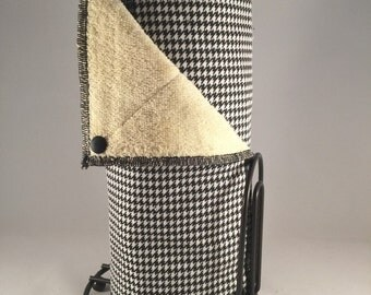 Snapping UnPaper Towels - houndstooth