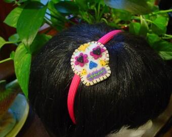 Day of the Dead Sugar Skull Headband