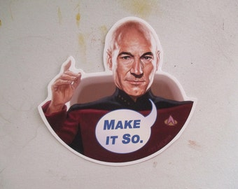 Star Trek Picard Sticker