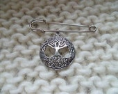 World Tree Yggdrasil Viking Celtic Pin
