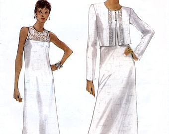 Vogue 9793 Misses' Jacket and Dress Sewing Pattern - Uncut - Size 8, 10, 12